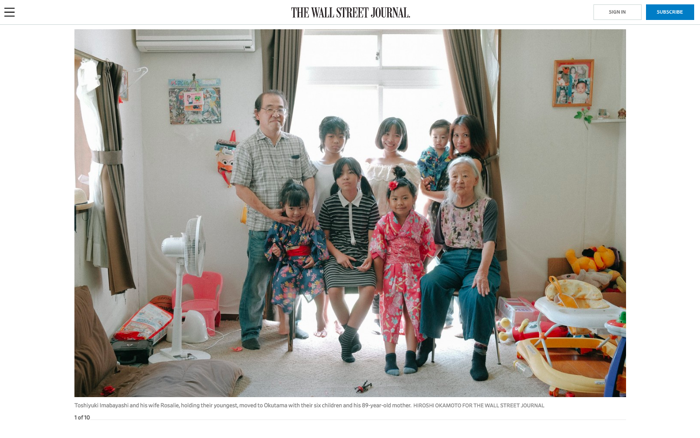 This Tokyo Town Can't Give Away Houses / THE WALL STREET JOURNAL
